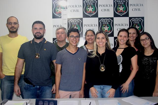 Nova delegada à frente da Delegacia de Polícia de Lauro Müller