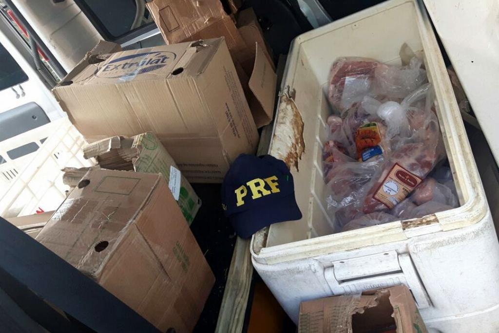 Mais de 200 quilos de produtos sem refrigeração são apreendidos na BR-101, em Araranguá3