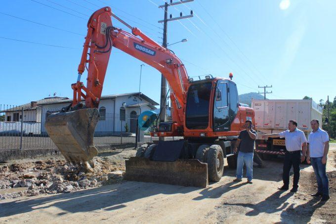 Obras de pavimentação iniciam em Treviso
