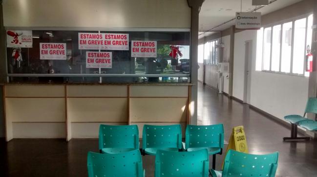 Servidores do Hospital Regional de Araranguá iniciam greve