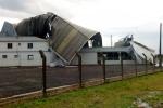 Tempestade deixa estragos pela região