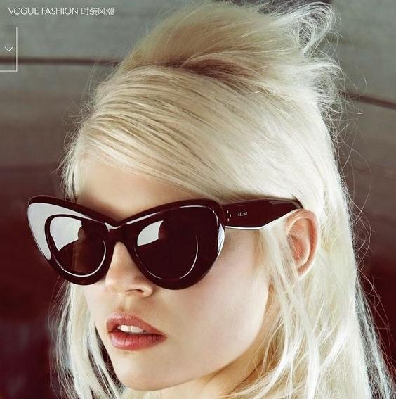Acessório do verão: óculos vintage