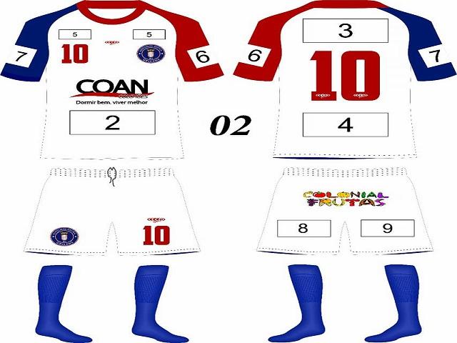 Camisas Associação Atlética Orleans