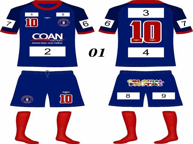 Camisas Associação Atlética Orleans2