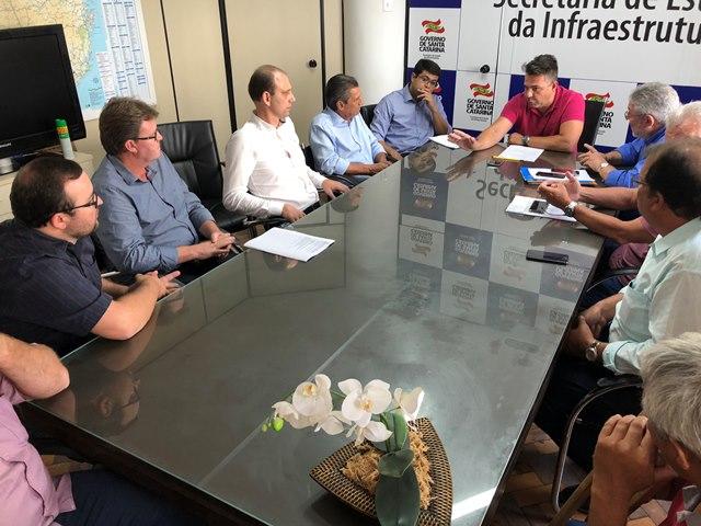 Manutenção da Serra do Corvo Branco é tema de reunião