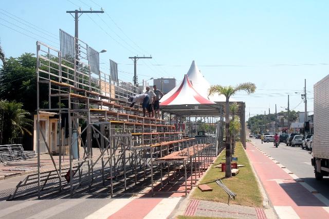 Balneário Rincão pronto para o Carnaval