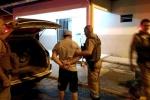 Jovem é flagrado com armas, carro furtado e plantação de maconha em Forquilhinha3