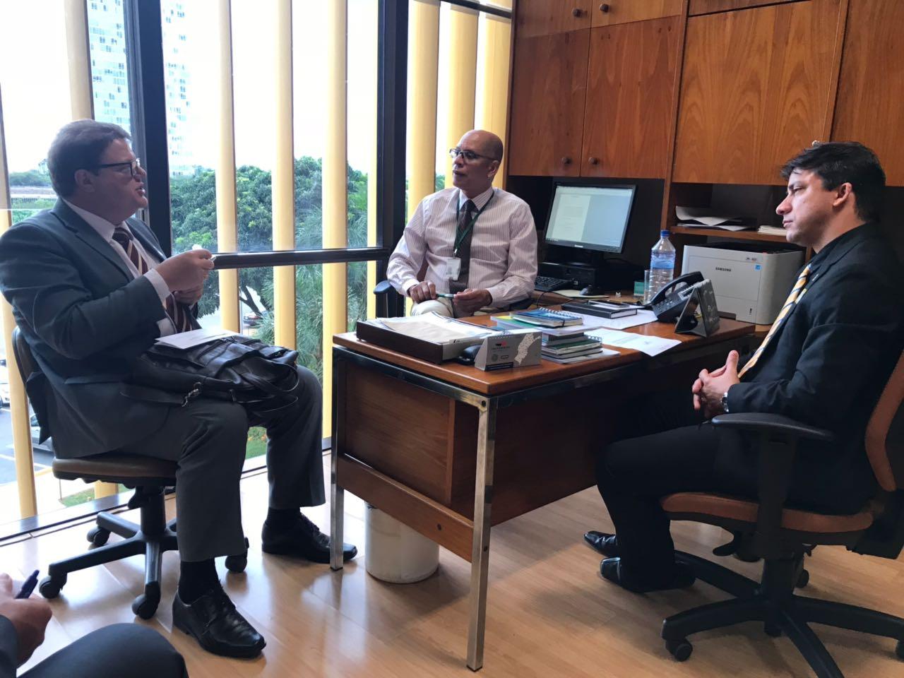 gabinete do deputado Jorge Boeira