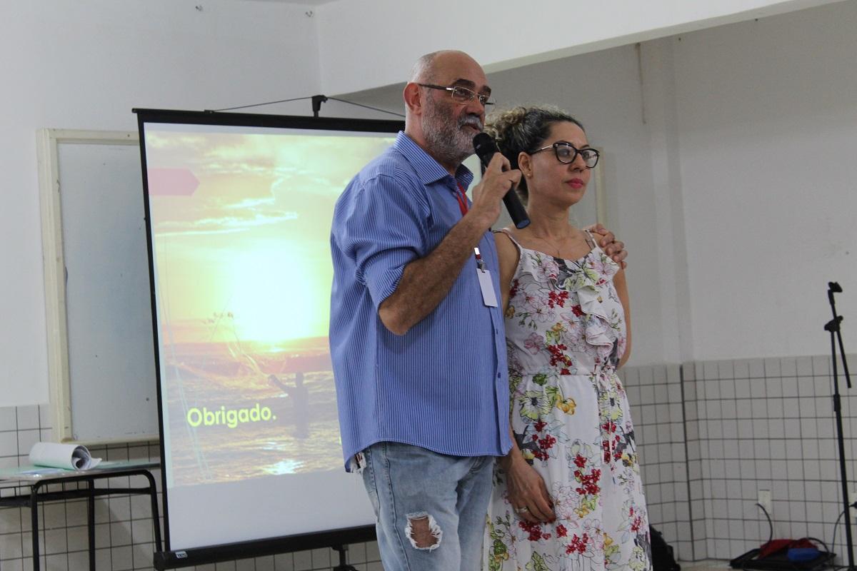 Luis Claiton e Micheline