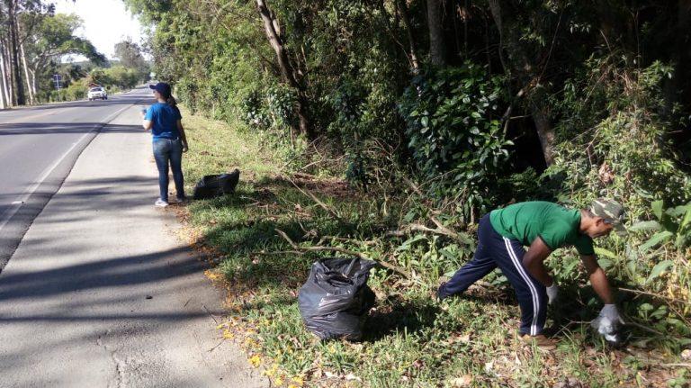 ação lions – limpeza rodovia 4