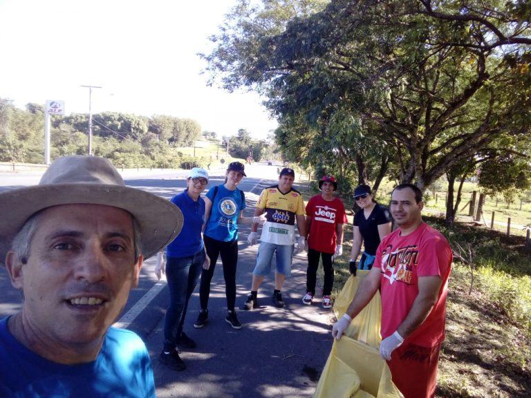 ação lions – limpeza rodovia 6