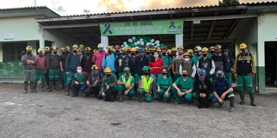 Carbonífera Catarinense promove atividades com foco na Saúde e Segurança do Trabalho