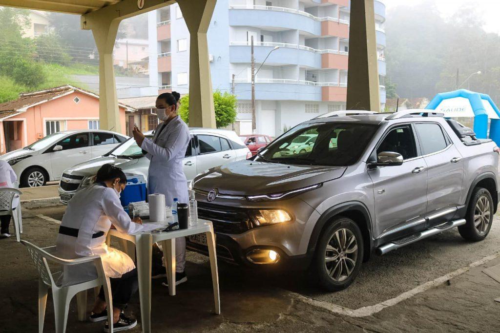 Vacinação Imunização Covid-19 Coronavírus Prefeitura de Orleans