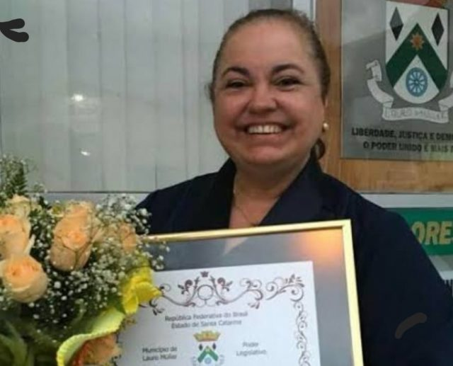 Prefeita Saionara Correa de Carvalho Bora