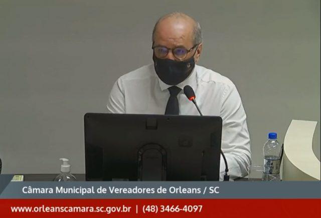 Vereador Luiz Cristóvão Crocetta