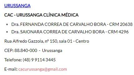 Saionara Correa de Carvalho Borba