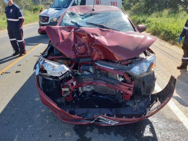 Motociclista morre após colisão frontal na SC-370, em Braço do Norte