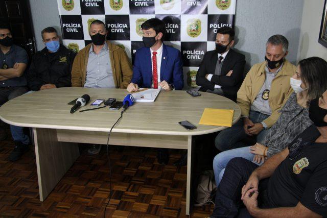Polícia Civil prende organização criminosa por diversos roubos em Criciúma e latrocínio em Morro da Fumaça