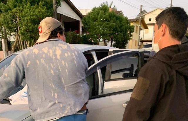 PC de Urussanga cumpre mandado de prisão preventiva de indiciado por tráfico
