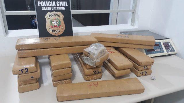 DIC de Criciúma prende traficantes envolvidos com facção criminosa