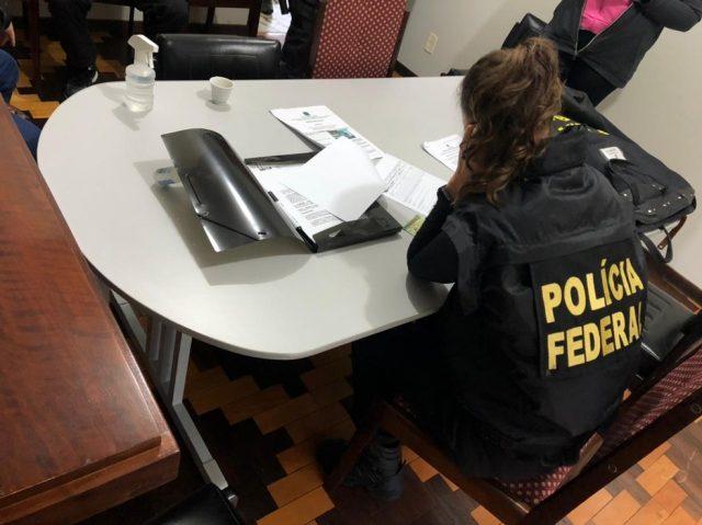 Polícia Federal cumpre mandados em Orleans, Urussanga, Siderópolis, Tubarão e Criciúma