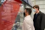 Beto participa do lançamento do Laboratório de Marcenaria Moderna do Sesi Senai BN 2