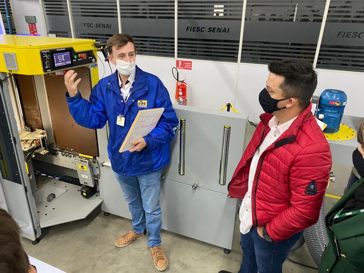 Beto participa do lançamento do Laboratório de Marcenaria Moderna do Sesi Senai BN 6