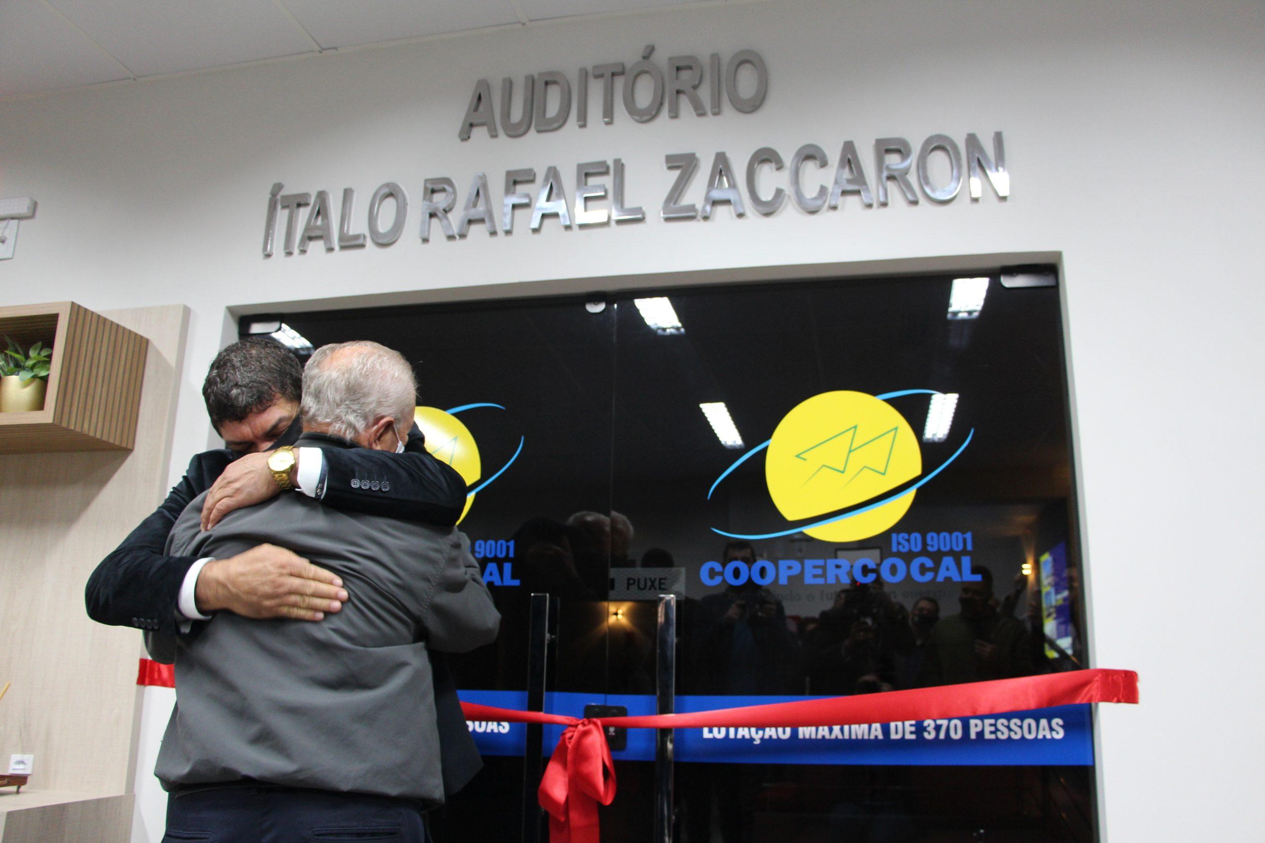 COOPERCOCAL: Emoção e homenagens marcam a inauguração do Centro Técnico Venicios Búrigo