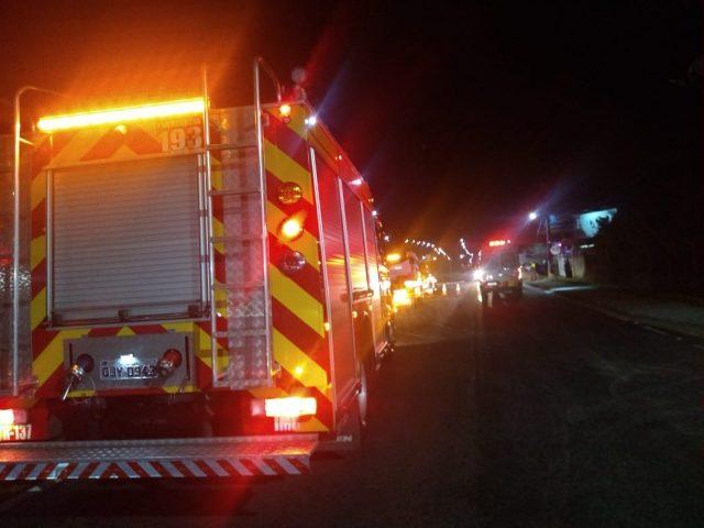Colisão envolvendo dois veículos é registrada na BR-101, em Imbituba