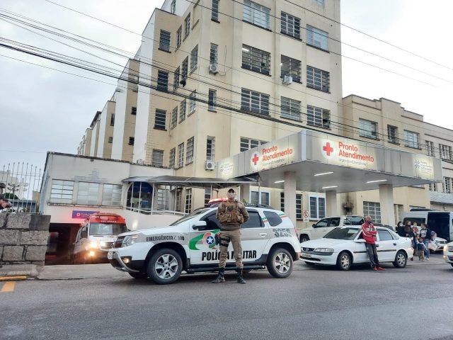 PM de Orleans presta apoio ao Samu no transporte ágil e seguro de bebê prematuro